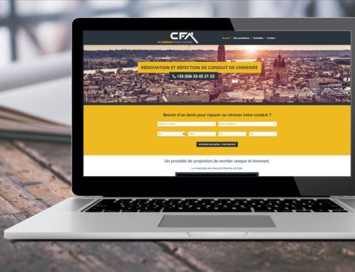 Maintenance et mise à jour du site de CFA